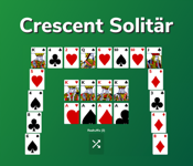 Solitär Crescent