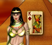 Play Pyramid Solitaire Mummy's Curse