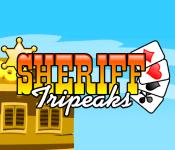 Play Sheriff Tripeaks