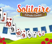 Play Solitaire Tripeaks Garden